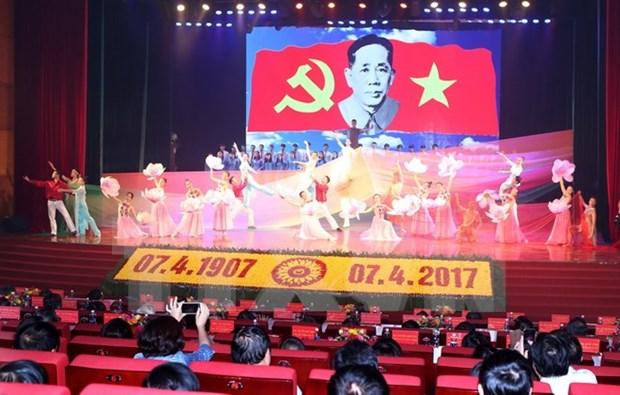 Le Vietnam celebre le 110e anniversaire de l'ex-secretaire general Le Duan hinh anh 1