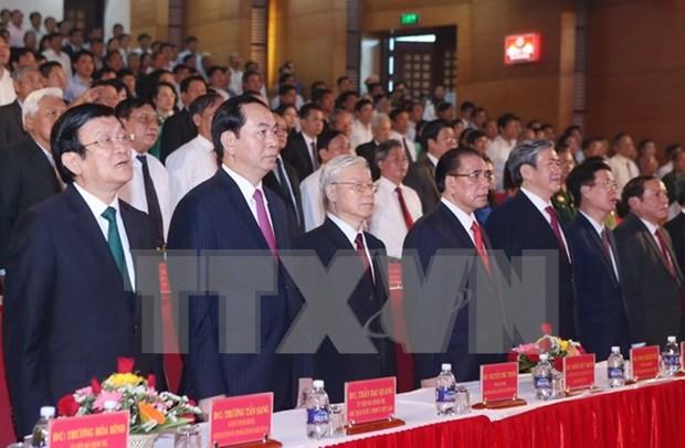 Le Vietnam celebre le 110e anniversaire de l'ex-secretaire general Le Duan hinh anh 2