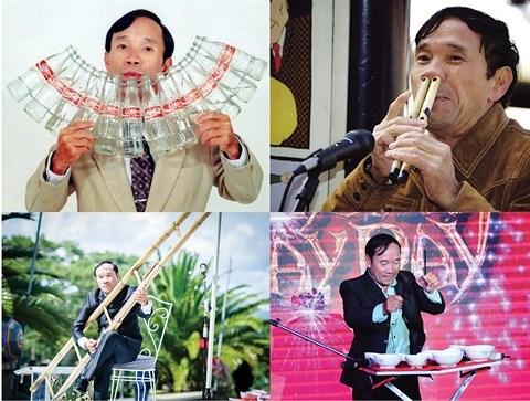 Mai Dinh Toi, l'instrumentiste qui part dans tous les sons hinh anh 2