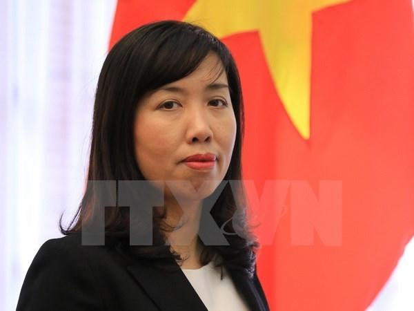 Mer Orientale: le Vietnam demande un reglement pacifique, conforme au droit hinh anh 1