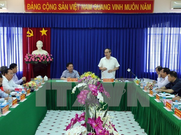 Chol Chnam Thmay: le chef du FPV se rend a Tra Vinh et Soc Trang hinh anh 2