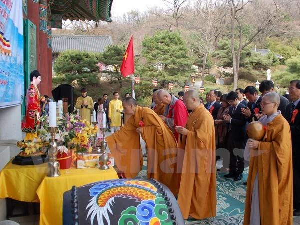 A Seoul, une grande messe de requiem pour les heros de Gac Ma hinh anh 1