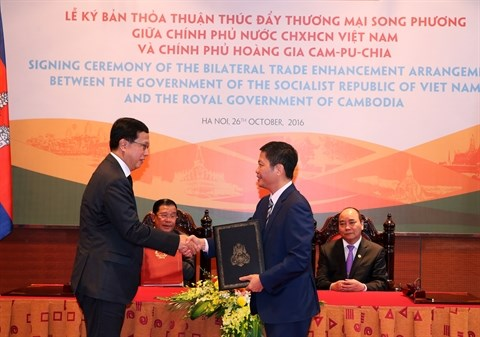 Vietnam et Cambodge renforcent leurs liens economiques et commerciaux hinh anh 1