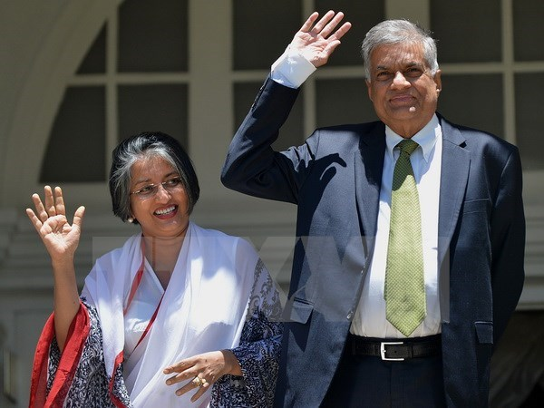 Le Premier ministre sri lankais Ranil Wickremesinghe attendu au Vietnam hinh anh 1