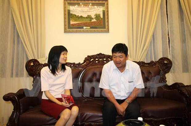 Affaire Kim Chol : Doan Thi Huong rencontre son pere hinh anh 1