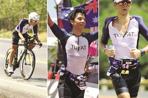 Un Vietnamien en lice au Championnat du monde Ironman 70.3 hinh anh 1