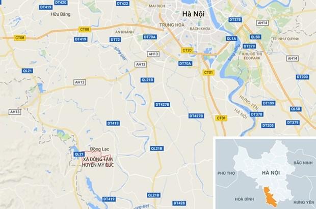 Troubles a l'ordre public a Dong Tam : Hanoi en informe hinh anh 1