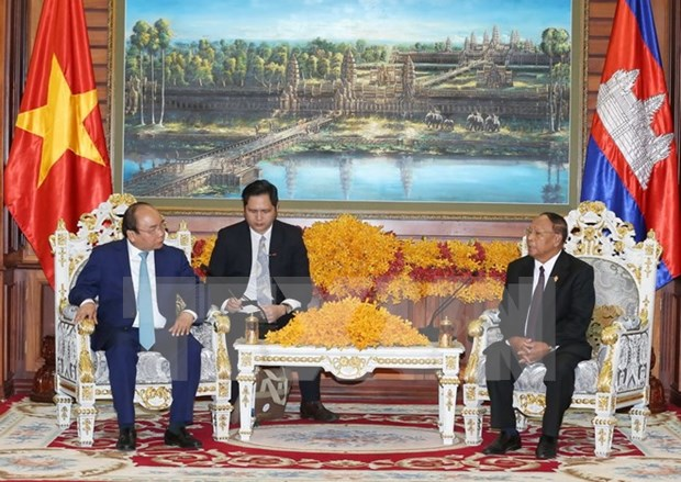 Pour approfondir les relations de solidarite et d'amitie traditionnelles Vietnam-Cambodge hinh anh 1