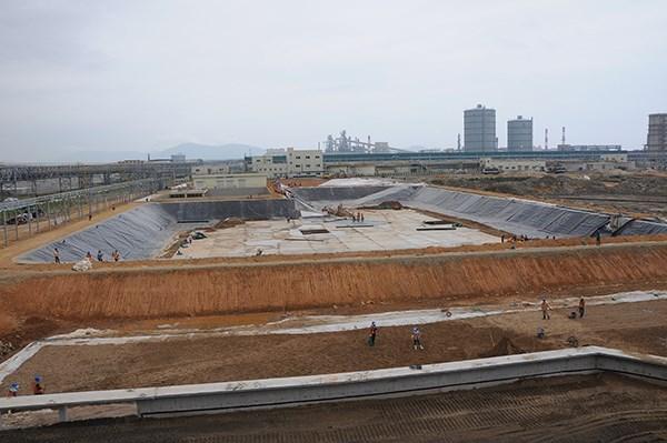 Un ministre inspecte les ouvrages de protection environnementale de Formosa hinh anh 2