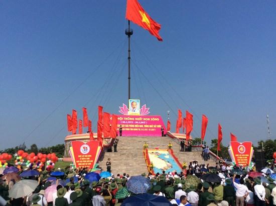 La province de Quang Tri hisse le drapeau de la reunification nationale hinh anh 1