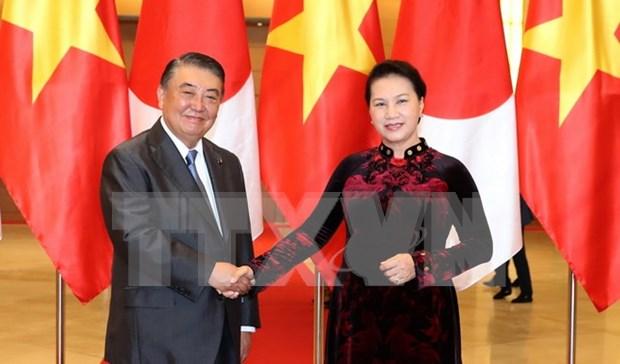 Le renforcement des relations avec le Japon est une priorite du Vietnam hinh anh 1