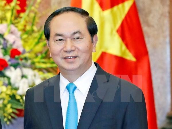 Le president Tran Dai Quang effectuera une visite d'Etat en Chine hinh anh 1