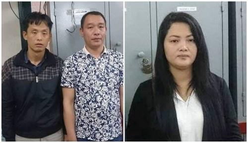 Trois Chinois arretes pour arnaque sur des DAB a Hanoi hinh anh 1