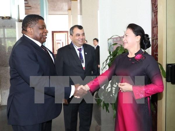 La presidente de l'AN du Vietnam recoit le president de l'UIP hinh anh 1