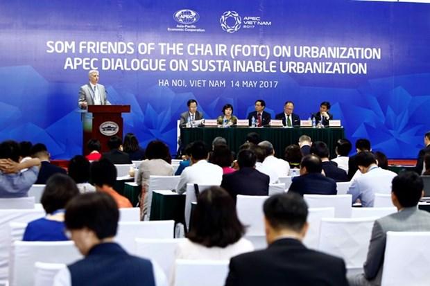APEC 2017 : dialogue sur l'urbanisation durable dans le contexte du changement climatique hinh anh 1