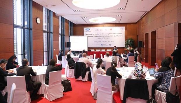 Le developpement de la ressource humaine aide l'APEC a devenir la force motrice de l'economie mondiale hinh anh 1