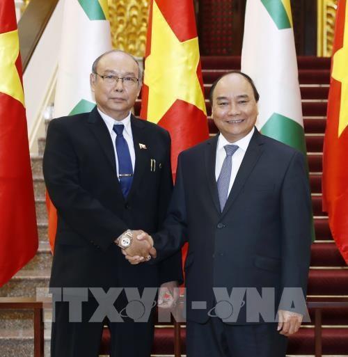 Le Vietnam affirme la politique d'elargir les relations avec le Myanmar hinh anh 2