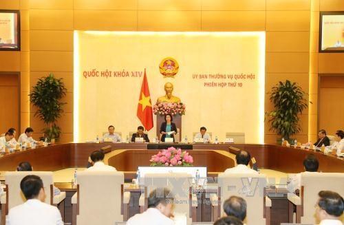 Le comite permanent de l'AN ouvre sa 10e session hinh anh 1