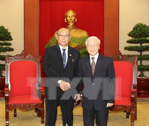 Le Vietnam affirme la politique d'elargir les relations avec le Myanmar hinh anh 1