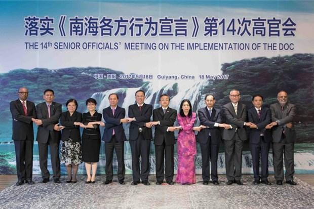 L'ASEAN et la Chine discutent de l'application de la DOC hinh anh 1