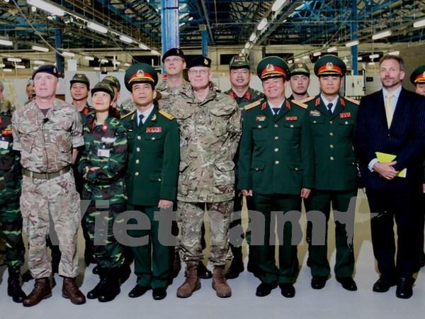 Le Vietnam et le Royaume-Uni cooperent sur le maintien de la paix hinh anh 1