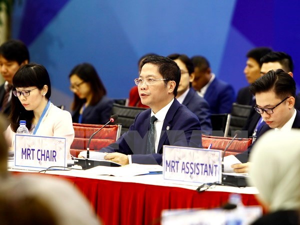 L'APEC resolu a construire un systeme commercial multilateral solide et transparent hinh anh 1
