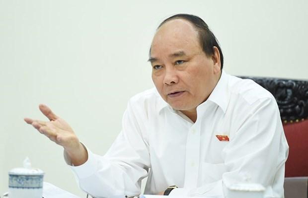 Le PM appelle a des efforts pour atteindre une croissance de 6,7 % hinh anh 1