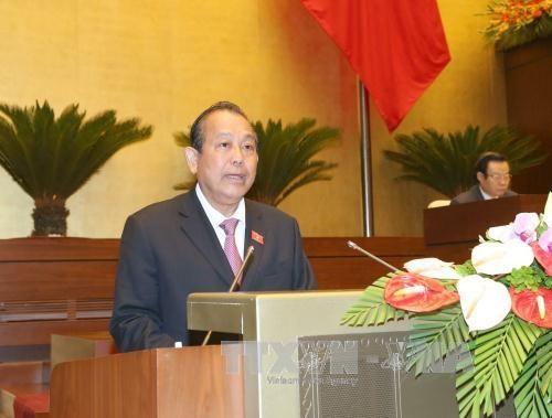 Le gouvernement appelle a oeuvrer pour atteindre les objectifs socio-economiques hinh anh 1
