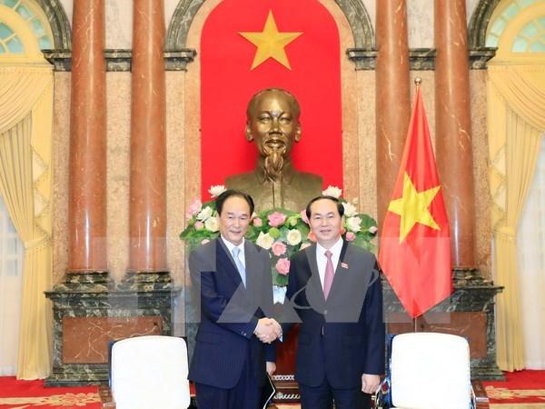 VNA et Xinhua doivent contribuer a l'approfondissement des relations Vietnam-Chine hinh anh 1