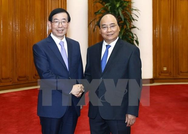 Des dirigeants vietnamiens recoivent l'envoye special du president sud-coreen hinh anh 3