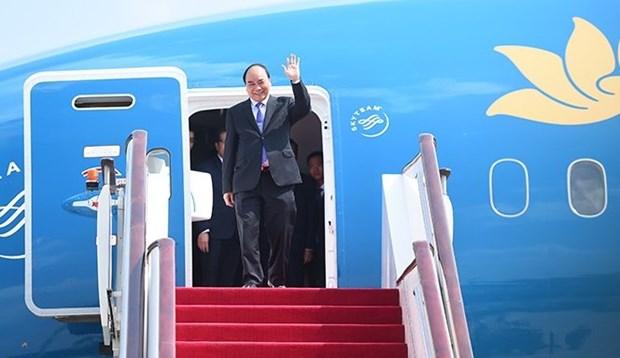 Le PM Nguyen Xuan Phuc aux Etats-Unis pour continuer d'impulser les liens hinh anh 1