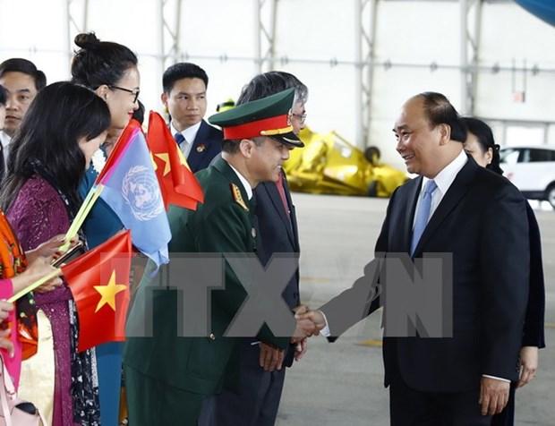 Le Premier ministre Nguyen Xuan Phuc entame sa visite officielle aux Etats-Unis hinh anh 1