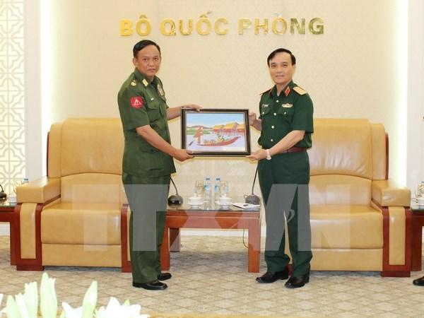 Vietnam et Myanmar renforcent leur cooperation dans l'information et la communication hinh anh 1