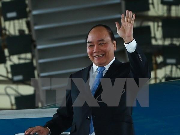 Aux Etats-Unis, le PM Nguyen Xuan Phuc envoie un message d'amitie et de confiance hinh anh 1