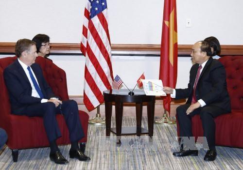 L'economie et le commerce restent le moteur des liens Vietnam-Etats-Unis hinh anh 3