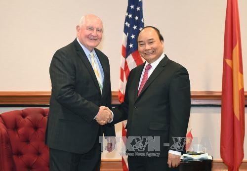 L'economie et le commerce restent le moteur des liens Vietnam-Etats-Unis hinh anh 2