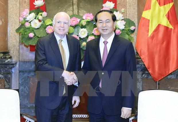 Le Vietnam veut booster son partenariat integral avec les Etats-Unis hinh anh 1