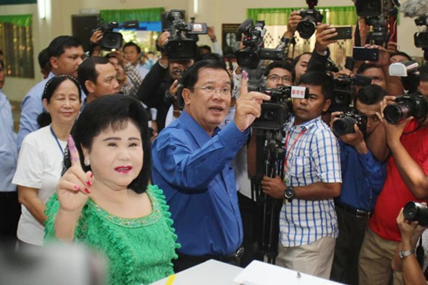 Cambodge : le PPC grand vainqueur des elections communales hinh anh 1