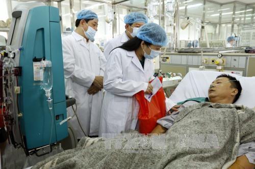 Dix patients sortis de l'hopital apres l'incident medical a Hoa Binh hinh anh 1