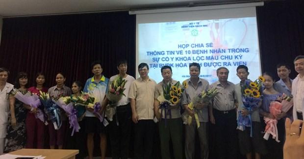La polyclinique de la ville de Hoa Binh se dote de dix dialyseurs hinh anh 1