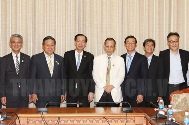 HCM-Ville et Nagasaki cooperent dans la formation des ressources humaines hinh anh 1