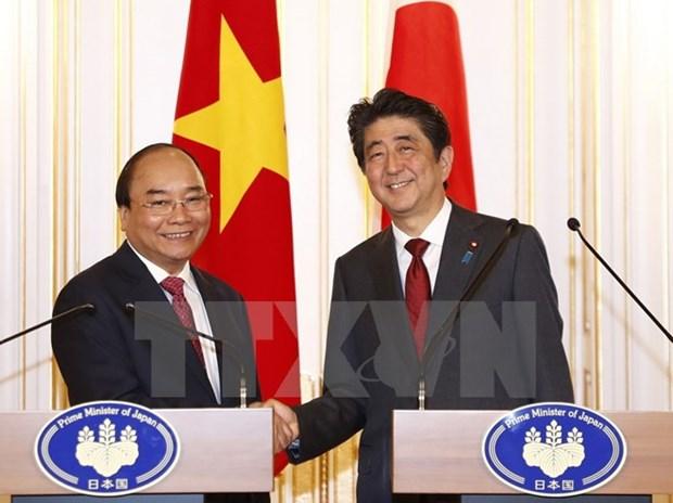 Ce qu'il faut retenir de la visite au Japon du PM Nguyen Xuan Phuc hinh anh 1
