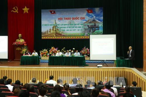 Consolider et developper la solidarite et l'amitie Vietnam-Laos hinh anh 1