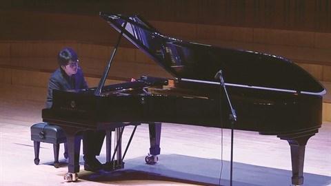 Un jeune vietnamien maitre du clavier a Stockholm hinh anh 1