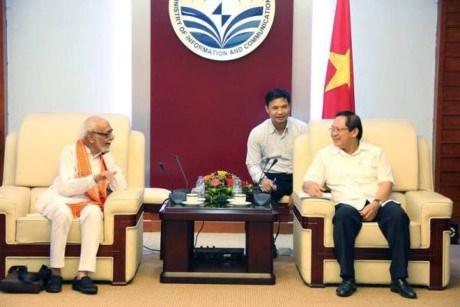 Le Vietnam et l'Inde favorisent les echanges entre les deux peuples hinh anh 1