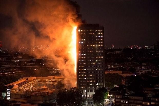 Incendie a Londres : pas de victime vietnamienne pour l'instant hinh anh 1