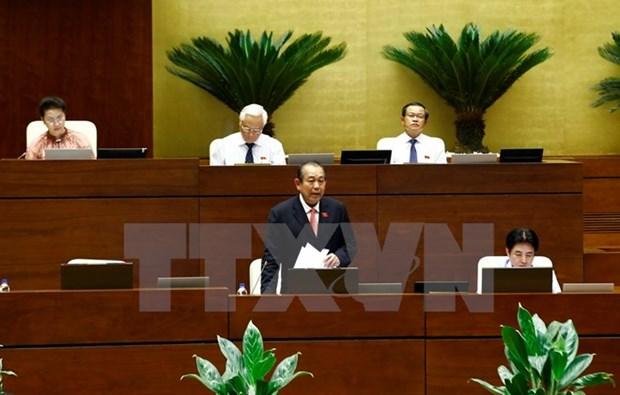 L'Assemblee nationale acheve ses seances d'interpellation