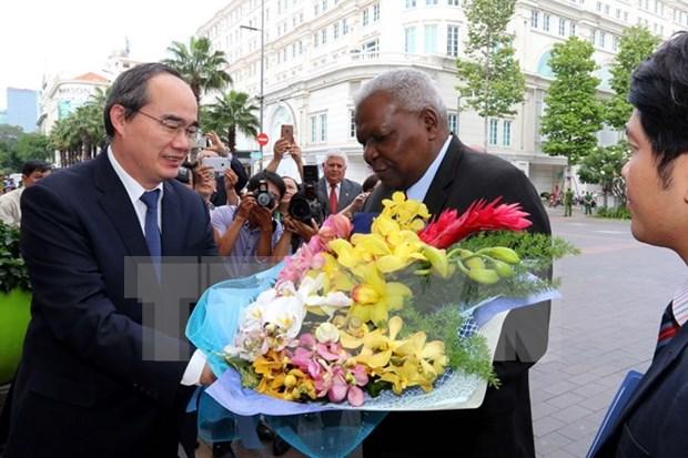 Le president de l'Assemblee nationale cubaine a Ho Chi Minh-Ville hinh anh 1