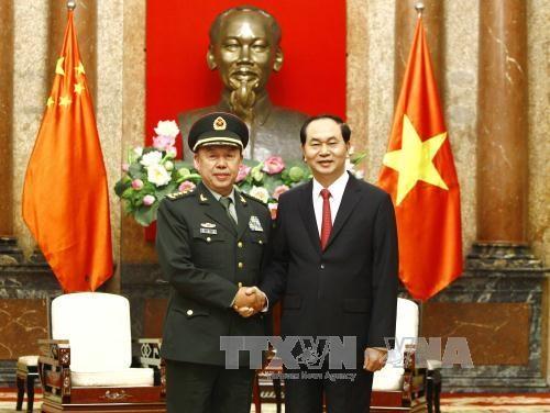 Le Vietnam veut pousser son partenariat de cooperation strategique global avec la Chine hinh anh 1