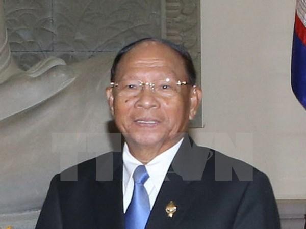 Le president de l'Assemblee nationale cambodgienne attendu au Vietnam hinh anh 1